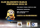 Inscripciones Club de Baloncesto Bílbilis