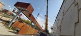 Avanzan las obras para la instalación de una pasarela peatonal de acceso al barrio San Antonio
