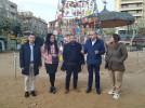 El Ayuntamiento de Tudela visita la decoración navideña de Calatayud