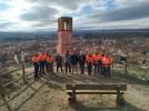 Finaliza una red de senderos y miradores en el entorno natural del Castillo Mayor