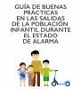 Se ruega a las familias respetar las medidas de seguridad con la salida de menores