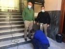 La empresa bilbilitana AddServices diseña dispensadores de gel y los instala en edificios municipale