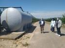 Sustituido el depósito de abastecimiento de agua potable en el albergue Sierra de Vicor