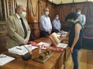 María Pilar Delgado Anglada toma posesión como concejal en el Ayuntamiento de Calatayud