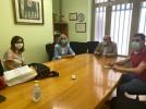 El alcalde y la concejal de Educación se reúnen con los institutos de la ciudad