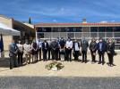 Homenaje a las víctimas de la COVID-19 en Calatayud