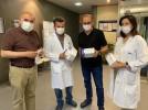 DIMA inicia la fabricación de mascarillas en Calatayud con capacidad de 2,5 millones al mes
