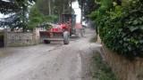 Sigue el arreglo de caminos en el barranco de la Bartolina