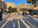 Primer día de colegio para los más pequeños en Calatayud