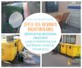 La recogida de residuos voluminosos se realiza exclusivamente el lunes previo aviso al Ayuntamiento