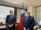 El alcalde de Calatayud visita la embajada de Taiwán para promover intercambios comerciales