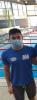 Óscar Bermejo, en las finales del Campeonato de España de Salvamento y Socorrismo