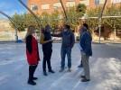 Arrancan las obras en el Recinto Ferial con el desmonte del pabellón de chapa