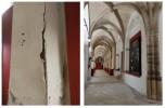 El Ayuntamiento intervendrá en los revocos del claustro de Santa María