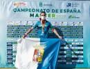 El atleta bilbilitano José Antonio Mayoral, campeón de España máster de 800 y 1500m