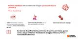 Nuevas medidas del Gobierno de Aragón para controlar la COVID-19