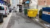 Calatayud desinfecta a diario las calles incidiendo en zonas de mayor afluencia ciudadana
