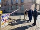 Comienzan las obras en la plaza Alcalde José Galindo, con una inversión de 31.273€