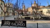 La plaza 'Alcalde José Galindo' ya luce una nueva imagen