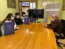 El alcalde recibe a los bilbilitanos vencedores en el Campeonato de España de Salvamento