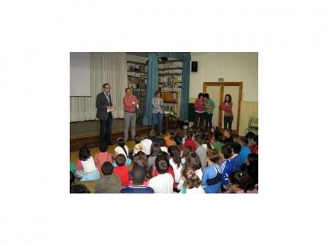 Reunión con escolares