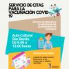 Calatayud abre una oficina de cita previa para la vacunación de la COVID-19