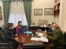 El alcalde felicita la excelencia de Carmen Yagüe y Laura Muñoz