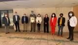 Emotiva despedida en el Ayuntamiento de Calatayud del general de la Academia de Logística