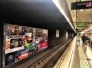 Calatayud se promociona ante un millón de viajeros en el metro de Barcelona