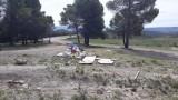 La Policía Local sanciona a los causantes de un vertido de escombros en un paraje natural