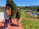Trabajos de acondicionamiento de las piscinas de Torres previos a la reapertura