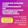 Reunión informativa sobre el nuevo proyecto de Hiberus en el IES Leonardo de Chabacier