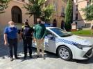 El Ayuntamiento de Calatayud dota a la Policía Local de un nuevo vehículo híbrido