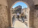 La renovada calle Torremocha presenta una red de miradores con unas magníficas vistas de Calatayud