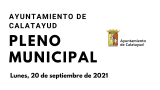 Pleno Municipal 20 de septiembre de 2021