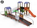 Renovación e instalación de juegos infantiles accesibles en cuatro zonas de la ciudad