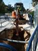 Corte puntual del suministro de agua en las calles Gáldar y el paseo Cortes de Aragón