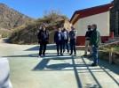 Renovado el acceso al apeadero de Embid, que ofrece excelentes vistas del barrio