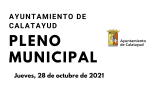 Pleno Municipal 28 de octubre de 2021