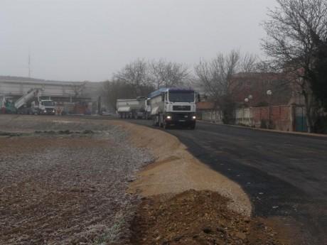 asfaltado del camino