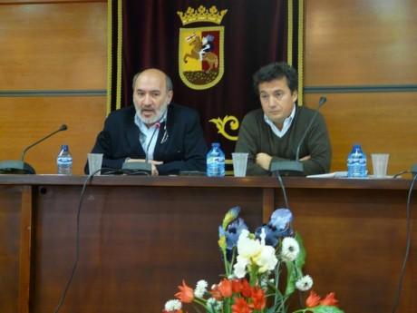 El alcalde y el concejal de Desarrollo Económico